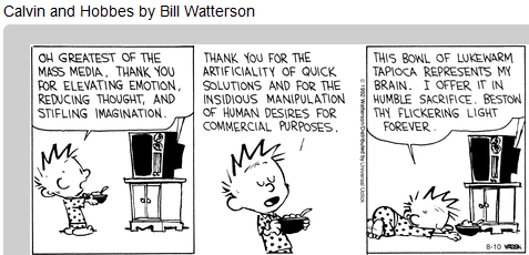 Calvin N Hobbs Mass Media Worship